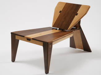 "The award-winning chair ""Mountain's Foot – Triangle"""