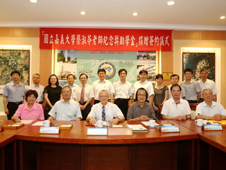 "A group photo of participants at the signing ceremony of the ""Ms. Cai"