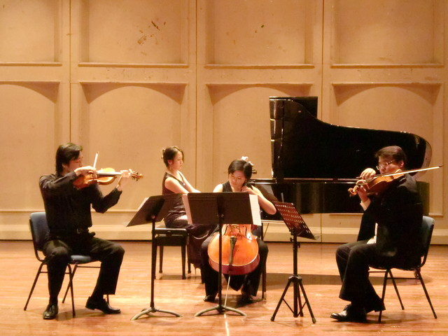 Piano Quartet Performance