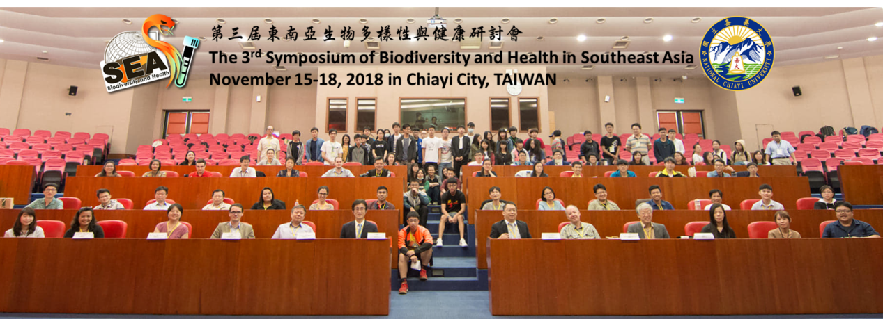 The 3rd International Symposium of Biodiversity and Health in Southeast Asia